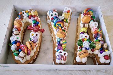 Letter Cakes